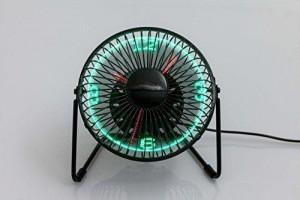 Schreibtisch Ventilator von vorne