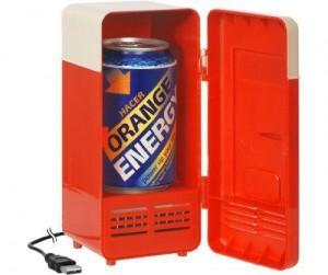 Mini Kühlschrank bestückt