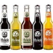 12 Flaschen Fritz Limo und -Cola im Set