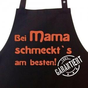 charmante Kochschürze - Geschenk zum Muttertag
