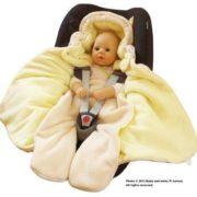 Baby Winter Einschlagdecke