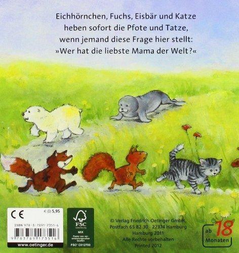 Die Liebste Mama Der Welt Kinderbuch Fr Muttis Schatz