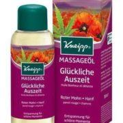 Kneipp Massageöl: Glückliche Auszeit