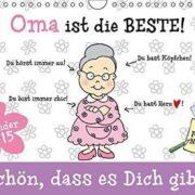 Oma ist die Beste