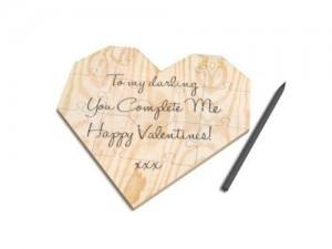 Beschriften Sie das Puzzle zum Valentinstag