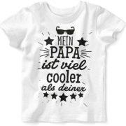 Baby Oberteil: Mein Papa ist viel cooler als deiner
