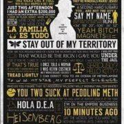 Breaking Bad Poster mit Sprüchen