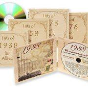 Jahrgangs Musik CD mit persönlicher Namensgravur