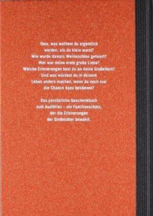 Buch Omas Lebensgeschichte Rückseite