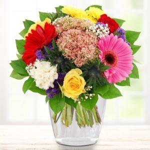Blumenstrauß - Freudige Momente