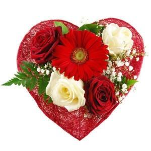Blumenstrauß Herzensglück