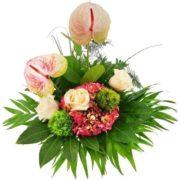 Blumenstrauß - Die besten Wünsche