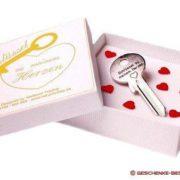 Schlüssel zu meinem Herzen - mit Wunschgravur