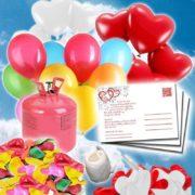 Helium Luftballons Set