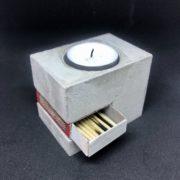Beton Streichholzschachtel - individualisierbar und originell