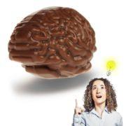 notfall gehirn aus schokolade