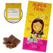 Superfrau Schokolade