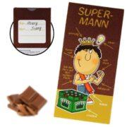 Super Mann Schokolade