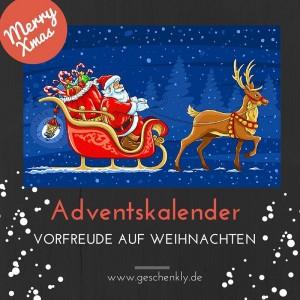 Adventskalender verschenken - ein herrliches Vor-Weihnachtsgeschenk
