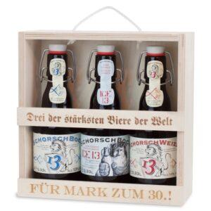 Personalisiertes Bierset - originelles Geschenk für Biertrinker