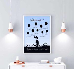 personalisierte Poster