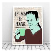 Poster Frankenstein Poster Mr. Frank