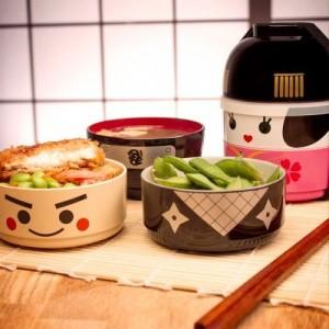 Kokeshi Bento Box: Stylische Lunchbox