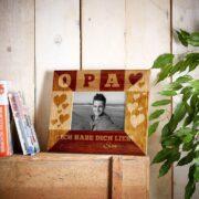 Personalisierter Bilderrahmen für Deinen Opa