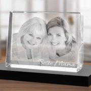 Glasfoto - Foto in Glas graviert