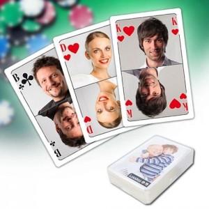 Pokerkarten mit eigenen Fotos