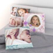 Fotokissen mit Kinderfotos