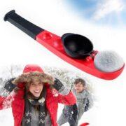 Schleuder für Schneebälle