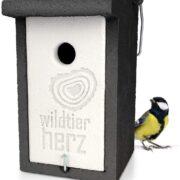 Design Vogelhaus aus Beton