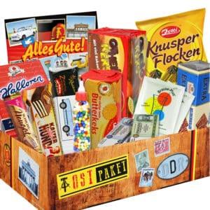 DDR-Süßigkeiten im Geschenkkarton