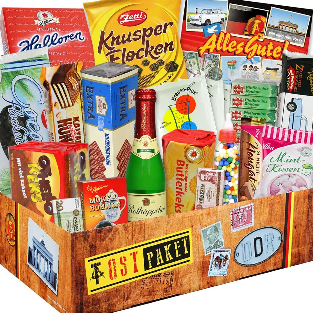 XXL DDR-Süßigkeiten-Box - Eine Geschenkidee für Naschkatzen!
