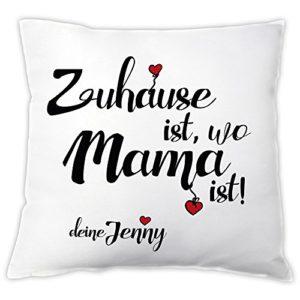 Personalisiertes Kissen für Mama