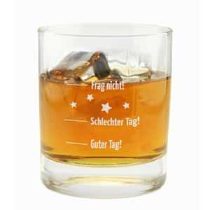 Das witzige Whiskyglas - lustiges Geschenk für Whiskytrinker