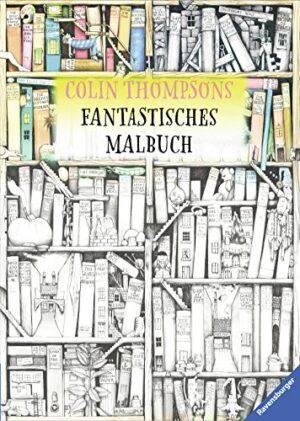 Malbuch mit Fantasiemotiven