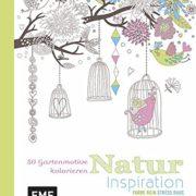 Malbuch Gartenmotive