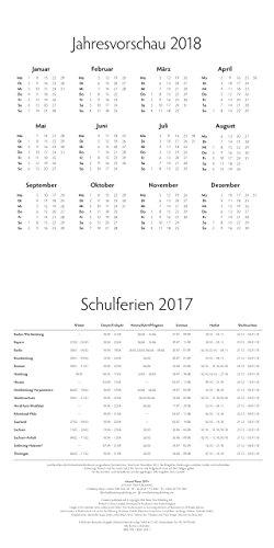Secret Places Ausmalkalender Schulferien 2017