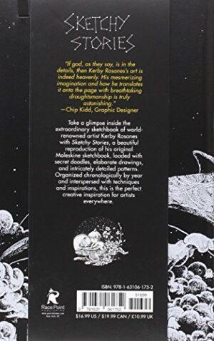 Sketchy Stories Ausmalbuch für Fortgeschrittene - Rückseite