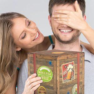 Biergeschenk Bester KOLLEGE der Welt im Karton