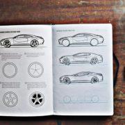 Autodesign-Zeichenbuch