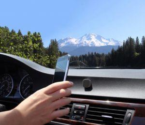 stylische Magnethalterung für's Smartphone