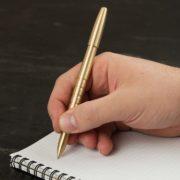 Messing-Kugelschreiber