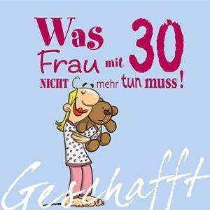 Frauengeschenk zum 30. Geburtstag