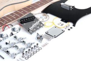 Anleitung E-Gitarre bauen