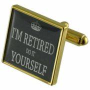Manschettenknöpfe zum Ruhestand