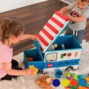 Stoff-Spielzeugbox (faltbar)