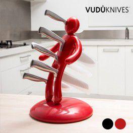 Voodoo Messerblock mit Messerset (5-teilig)